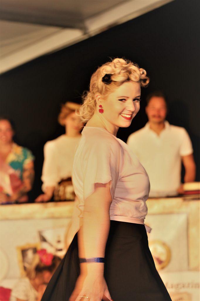 Miss Vintage Flaneur Wahl 2019 Berta von Ulrich