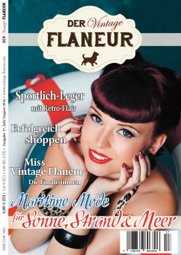 Vintage Flaneur Ausgabe 17 Cover