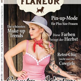 Vintage Flaneur Ausgabe 18 Cover