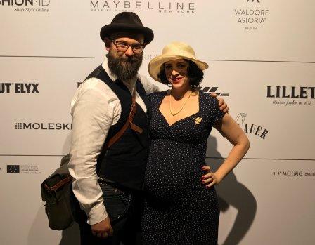 Schwanger und Vintage bei der Berlin Fashion Week