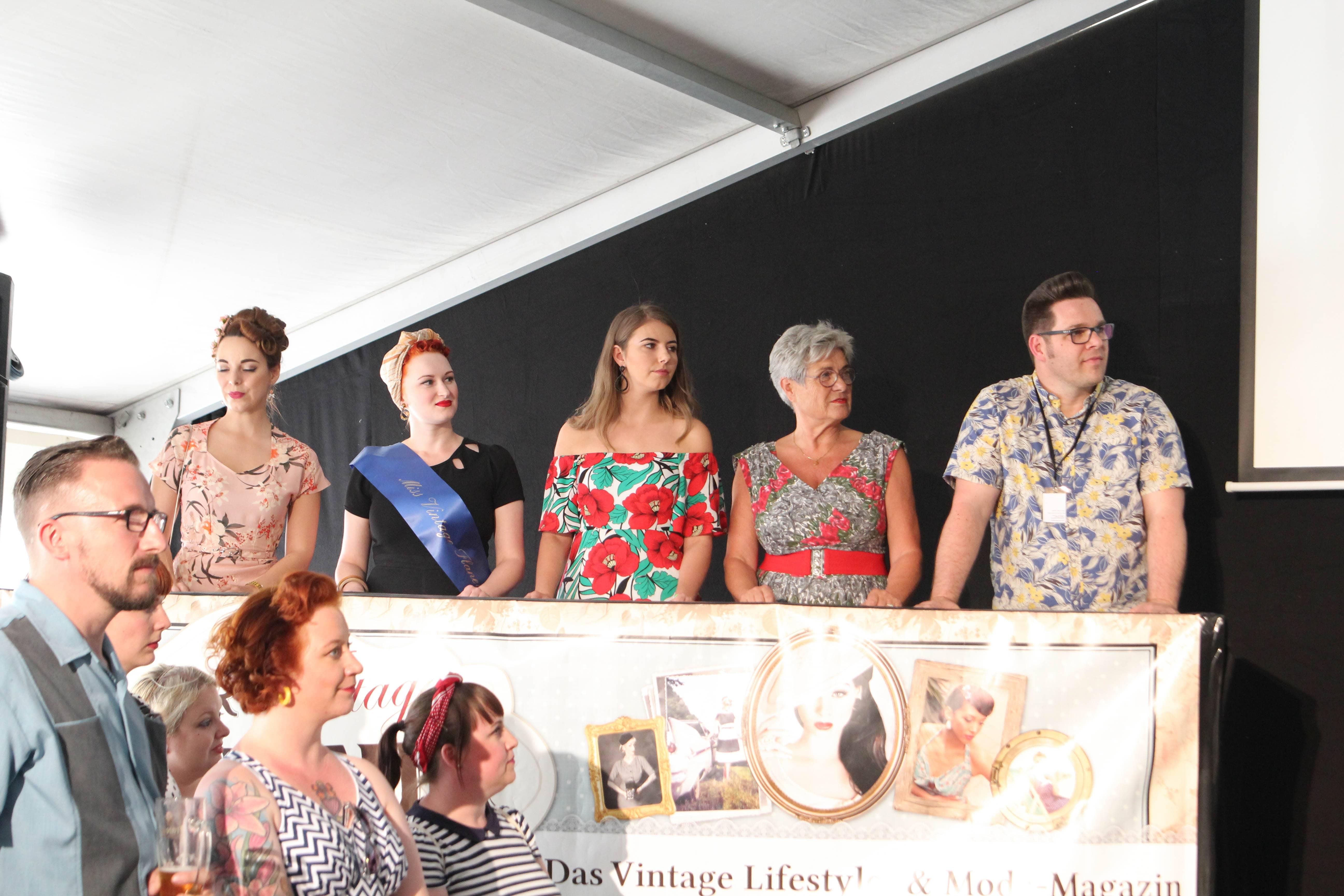 Die Jury der Miss Vintage Flaneur Wahl 2018