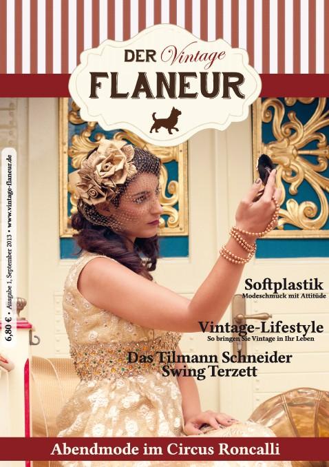 Vintage Flaneur Titelbild Ausgabe 1