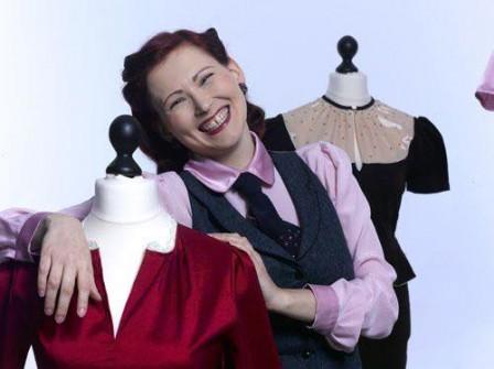 Franziska ist der Kopf hinter dem Retro Modelabel Marlenes Töchter