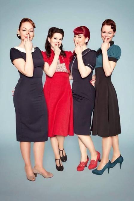 Schöne Vintage Kleider nach Berliner-Schnauzen-Art