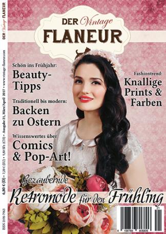 Vintage Flaneur Ausgabe 21 Cover