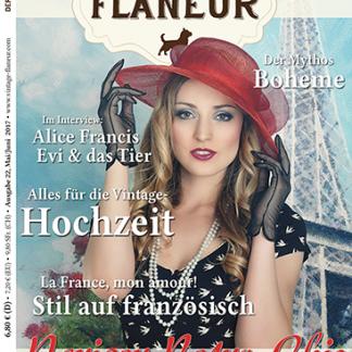 Vintage Flaneur Ausgabe 22 Cover