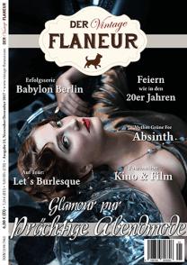 Titel Ausgabe 25 des Vintage Flaneurs