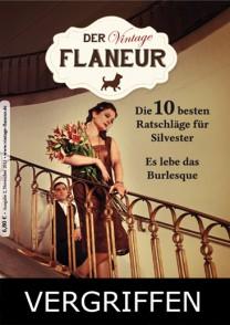 Ausgabe 2 des Vintage Flaneurs vergriffen