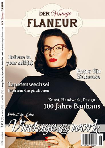 Cover Ausgabe 36 Vintage Flaneur