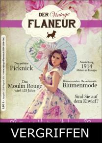 Ausgabe 5 des Vintage Flaneurs vergriffen