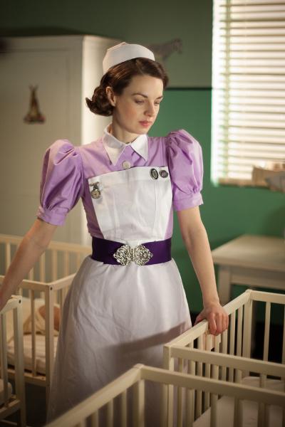 Jenny Lee (Jessica Raine) kehrt in die Geburtsklinik zurück und wird gleich mit einem neuen Fall konfrontiert. Copyright: ZDF/Laurence Cendrowicz
