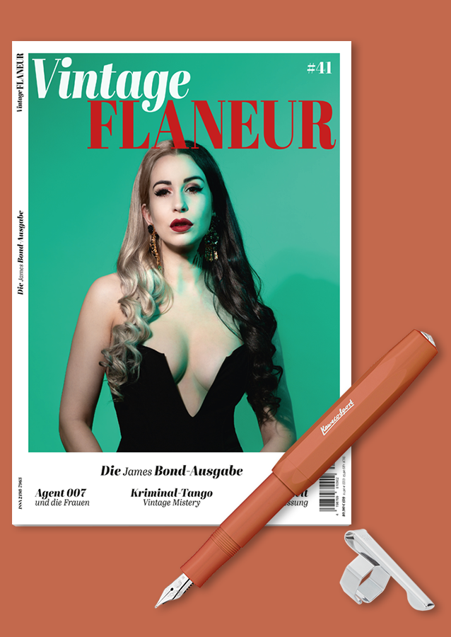 Vintage Flaneur Abo mit Kaweco Füller Skyline Fox