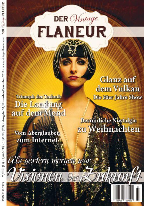Ausgabe 37 des Neo-Vintage Indie Mag Der Vintage Flaneur