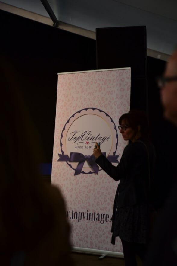 Die Wahl zur Miss Vintage Flaneur wird von TopVintage gesponsert