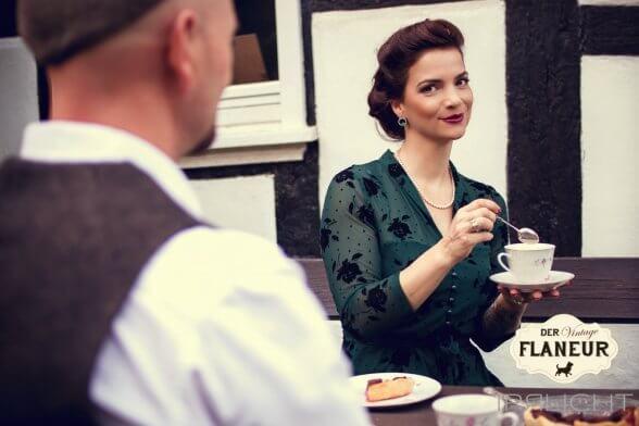 Vintageinspirierte Mode mit britischem Charme