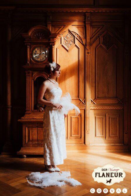 Vintage Flaneur - Vintage Brautkleid von Vererbt
