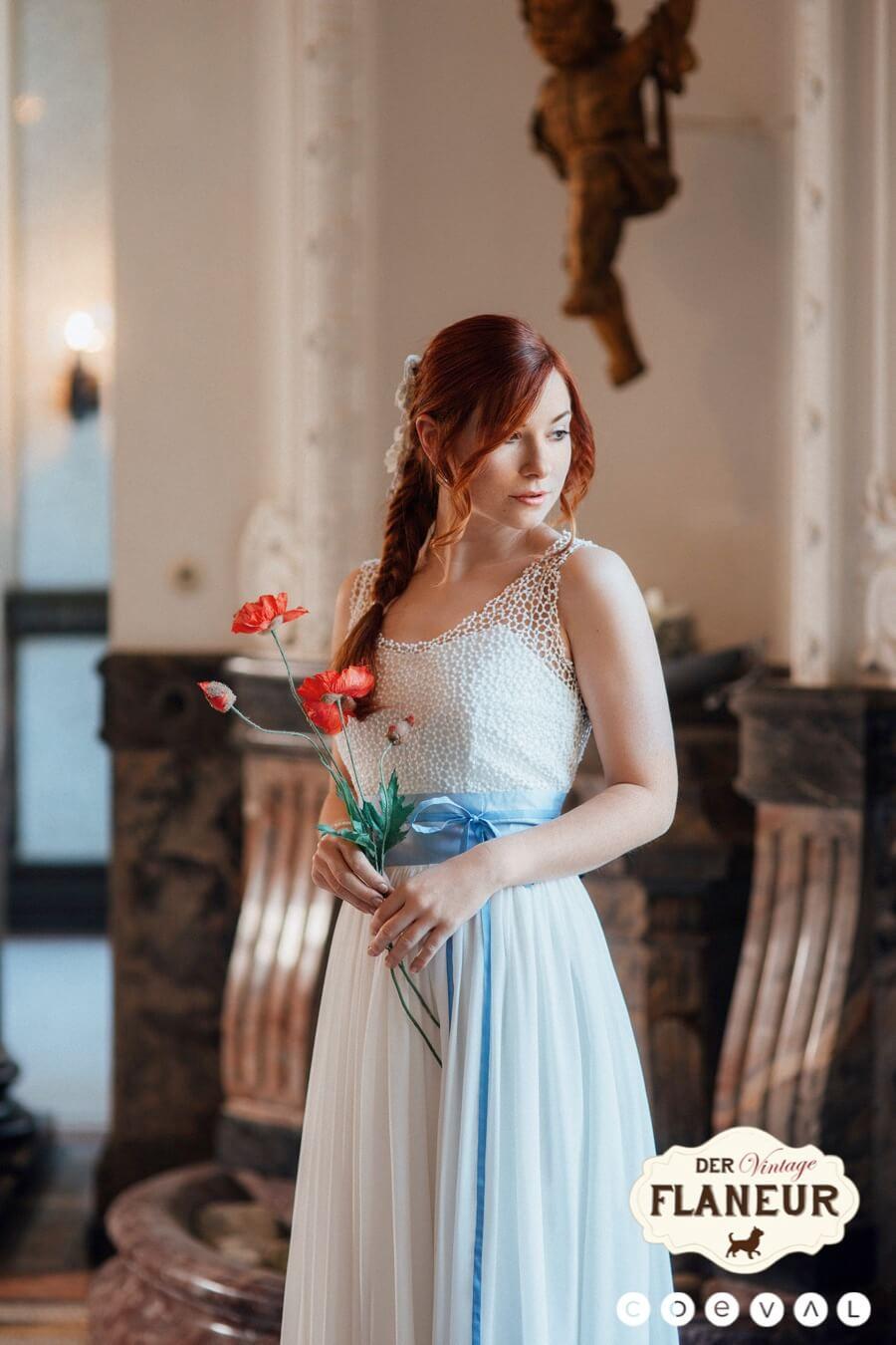 Vintage Hochzeit Brautkleider Von Noni Farbenfroh Und Federleicht