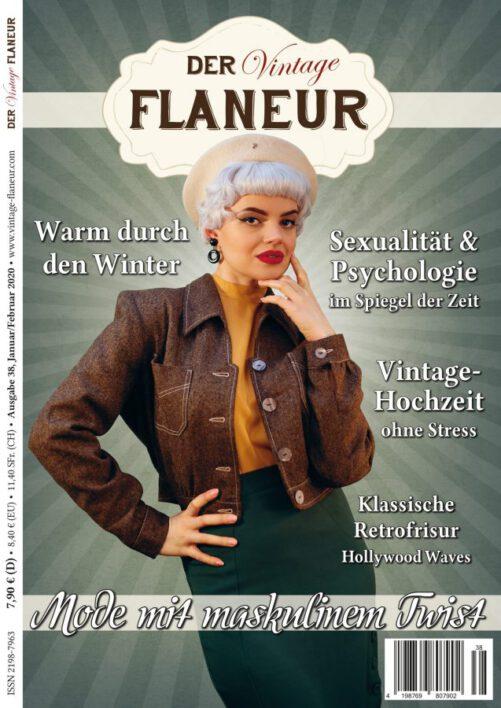 Cover Ausgabe 38 des Vintage Flaneurs