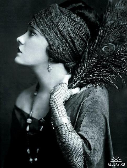 Foto einer Dame aus den 20ern