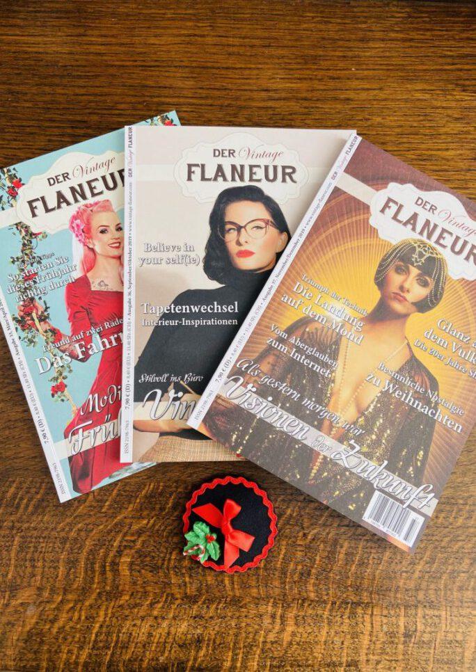 Vintage Flaneur Abo mit Headpiece von Miranda`s Choice
