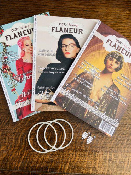 Vintage Flaneur Abo mit Schmuck von Froilein Adrett