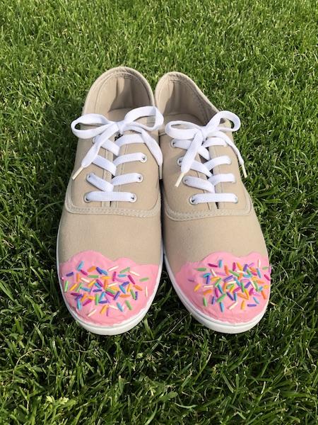 bequeme Cupcake-Schuhe