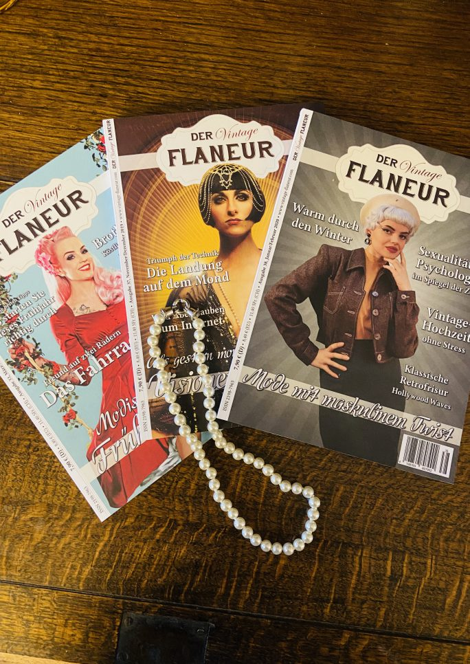 Vintage Flaneur Abo mit Kette