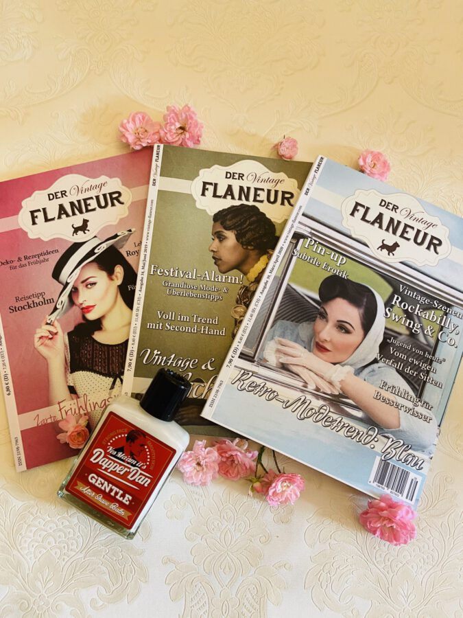 Vintage Flaneur Abo mit Aftershave Balm