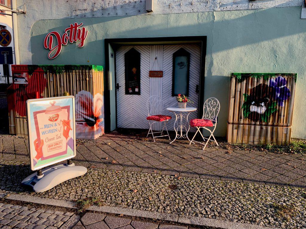 Vintage Shop Dotty&Dan von außen