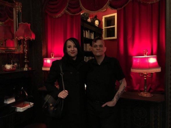 Mit Machere im Salon Mistress & Master