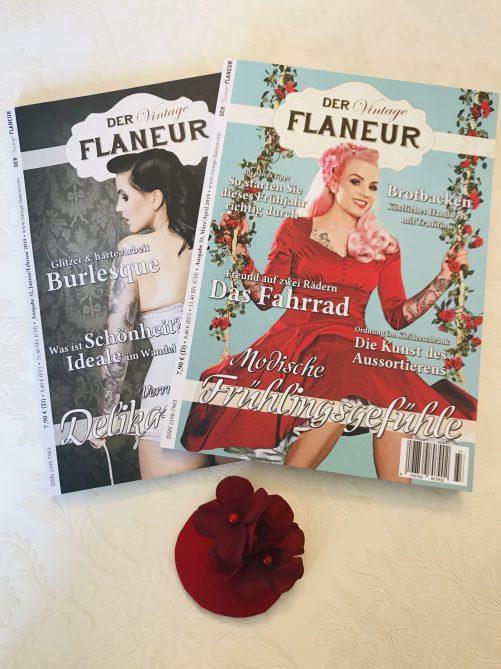Vintage Flaneur Abo mit Fascinator