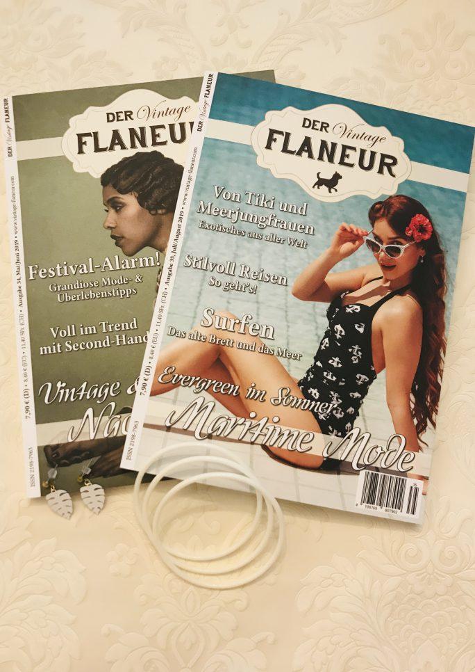 Vintage Flaneur Abo mit Schmuckprämie