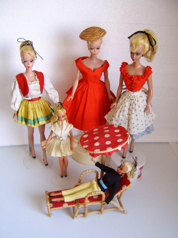 Sammlung von Vintage Puppen
