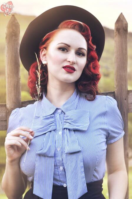 Wahl zur Miss Vintage Flaneur - Little Miss Richard