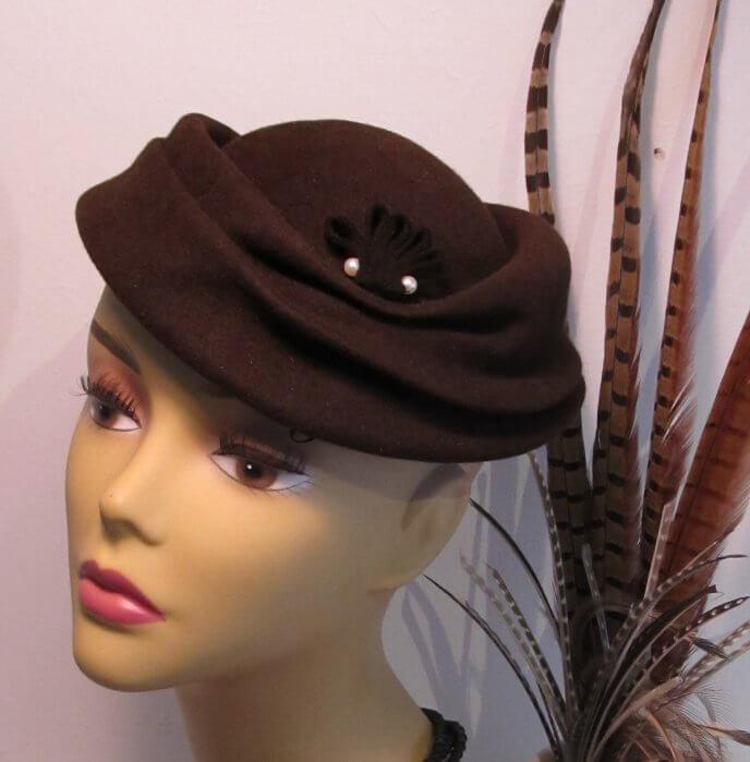 Ein weiterer wundervoller Hut von Mein wunderbarer Hutsalon