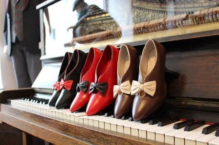 Schuhe des Retrolabels Daphne und Josephine