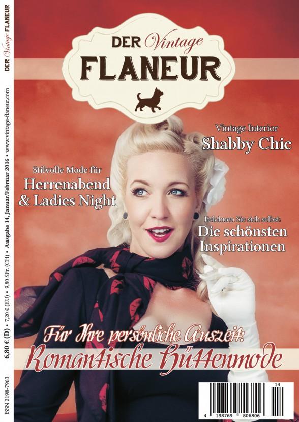 Cover Ausgabe 14 des Vintage Flaneurs