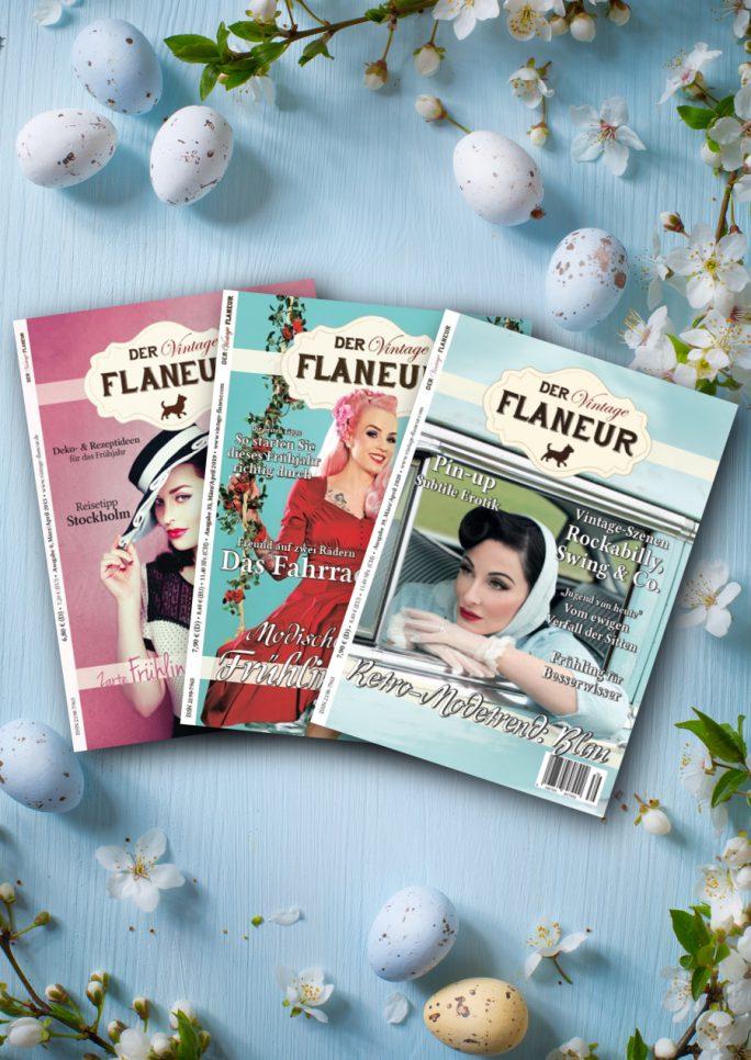 Vintage Flaneur Oster-Abonnement