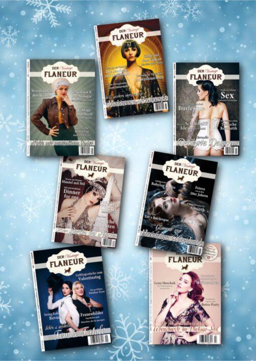 Winterbundle des Vintage Flaneurs - 7 Ausgaben