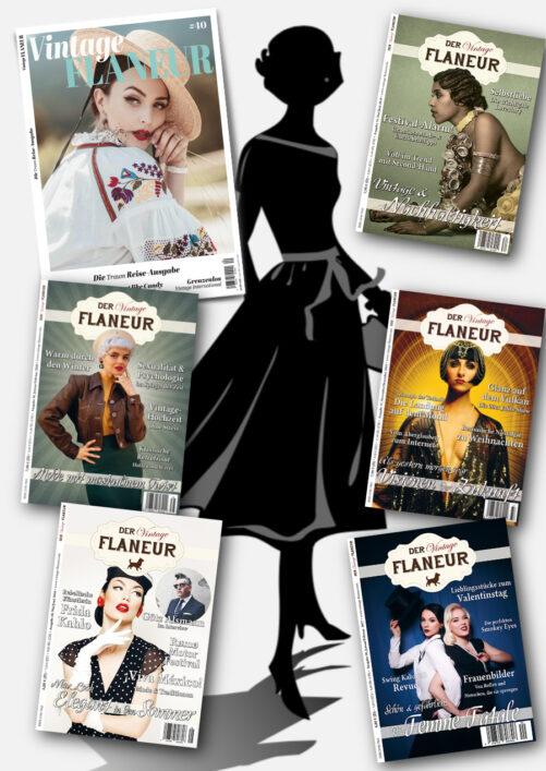 Vintage Flaneur Starke-Frauen-Bundle