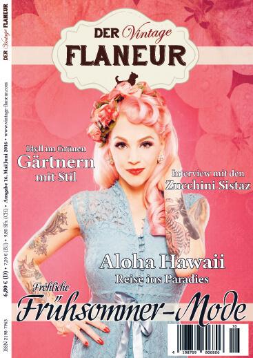 Ausgabe 16 des Vintage Flaneurs