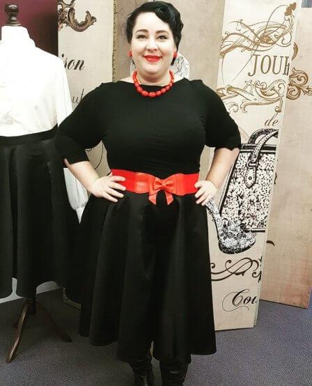 Die wunderbare Patricia von Rebel Curves.