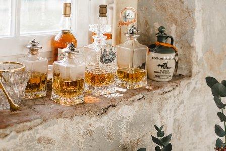 Whisky Bar von Goldröschen - Vintage Porzellan