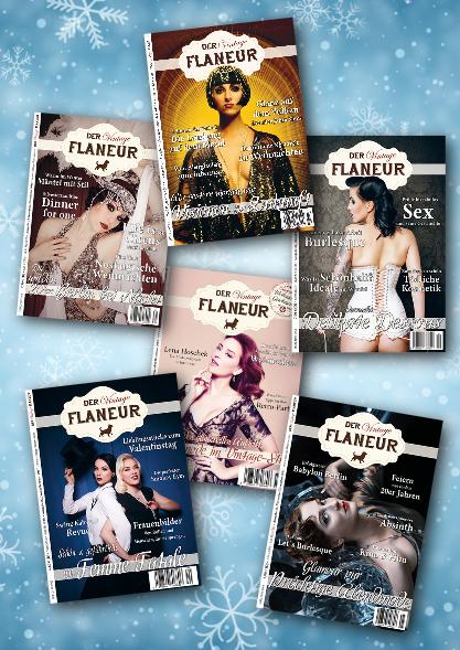 6 winterliche Ausgaben des Vintage Flaneur