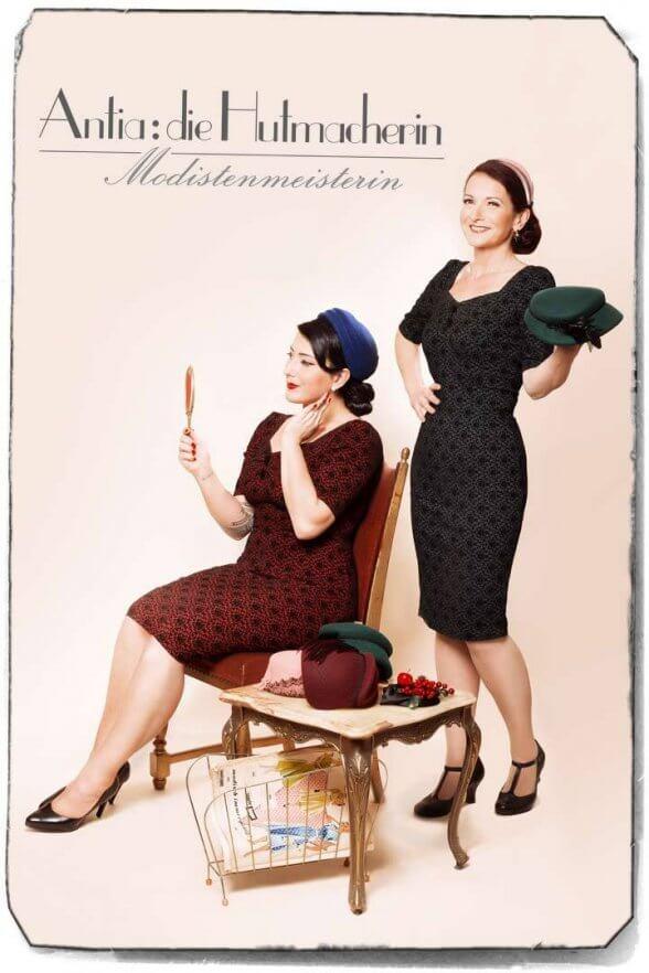 Fräulein Zauberhaft und Antia - Die Hutmacherin