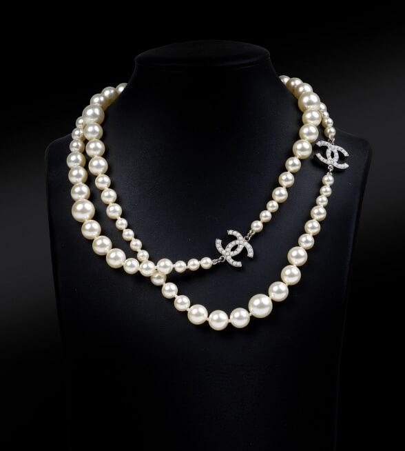 Chanel Halskette, um 1996 - www.dorotheum.at