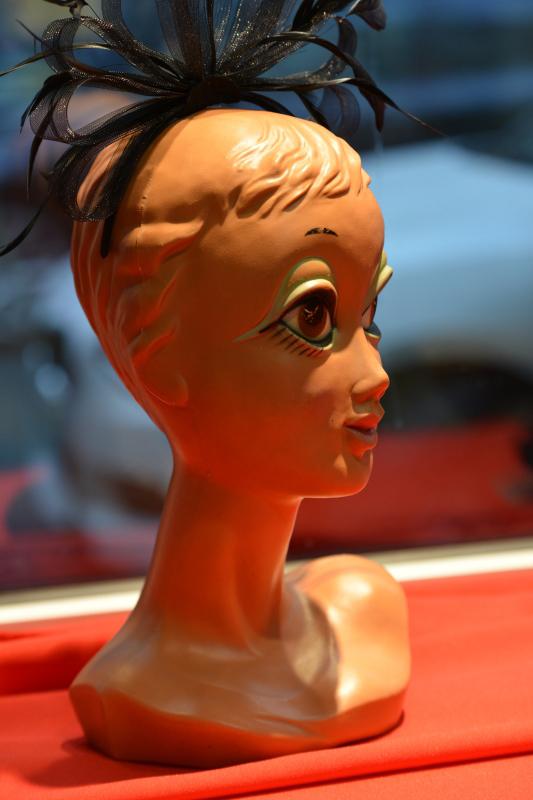 Ein Detail beim Vintageladen Peggy Sue Frankfurt