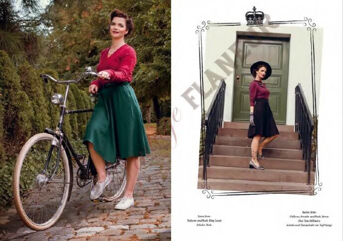 Modestrecke im retro British Schick