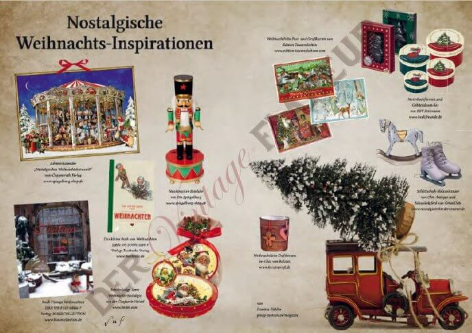 Nostalgische Weihnachtsinspirationen