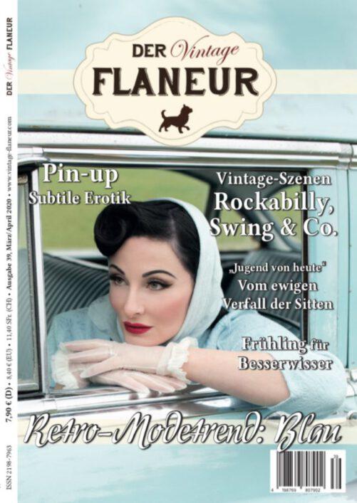 Vintage Flaneur Cover Ausgabe 39